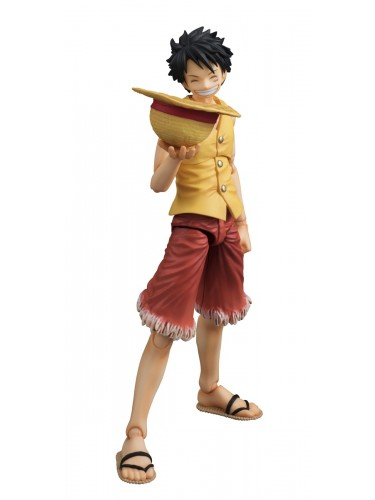 Monkey D. Luffy Past Blue Vers Yellow Variable Action Heroes Front