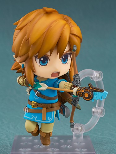 Nendoroid Link: Breath of the Wild shooting