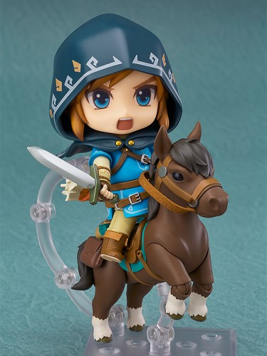 Nendoroid Link: Breath of the Wild Deluxe Edition front