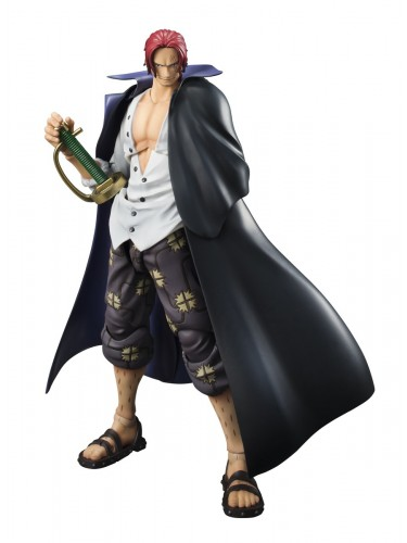Shanks Variable Action Heroes front