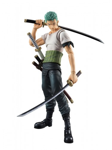 Zoro Past Blue Variable Action Heroes 1