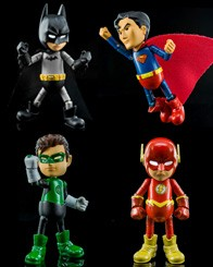 Mini Hybrid Metal Figuration Justice League Set thumb