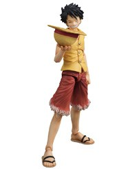 Monkey D. Luffy Past Blue Vers Yellow Variable Action Heroes thumb