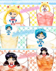 Sailor Moon Wonder Festive Limited Edition Ochatomo Series thumb