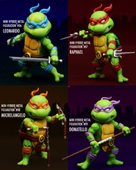 Mini Hybrid Metal Figuration 2 TMNT Set thumb